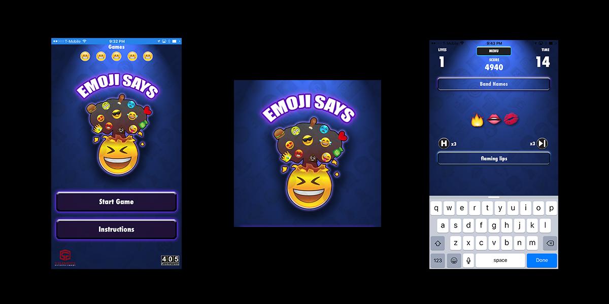 Emoji-Says